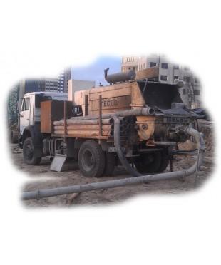 Мобильные бетонанососы средней мощности, 60-90 м3/час (Длина бетоноводов - подачи до 130-160 м./ высота подачи 10-14й этаж ). ПОСМЕННАЯ АРЕНДА - 8 часов, с дополнительной оплатой монтажа-демонтажа бетоноводов.